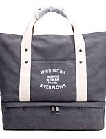 Women Bags All Seasons Canvas Shoulder Bag Zipper for Blue Black Gray Purple Coffee