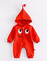 Baby Kids Others One-Pieces,Others Winter Fall Orange Gray