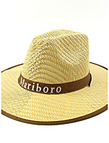 Men's Straw Straw Hat,Hat Casual/Daily Hats Print Summer Floral Bow