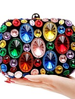 Women Bags Polyester Evening Bag Pockets for Event/Party All Seasons Blue Gold Red