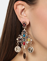 Women's Drop Earrings Crystal Oversized Fashion Alloy Jewelry Jewelry For Party Christmas