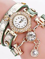 Femme Bracelet de Montre Montre Décontractée Montre Diamant Simulation Chinois Quartz Polyuréthane Bande Bohème Pour tous les jours