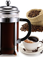 ml  Glass Stainless Steel French Press , Maker