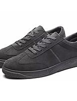 Da uomo Scarpe PU (Poliuretano) Autunno Inverno Comoda Sneakers Footing Lacci Per Casual Bianco Nero Grigio