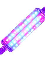7W R7S Luz de LED para Estufas 72 SMD 2835 600-700 lm Roxa - K V 1 Peças