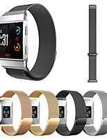 cheap -Milanese Loop Band For Fitbit Ionic Watch Replacement Wrist Strap Stainless Steel Metal Magnetic Clasp Strap