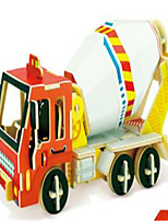 3D Puzzles Construction Vehicle Toys Excavating Machinery Vehicles Cartoon Design Kids 1 Pieces