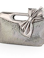 cheap -Women Bags PU Evening Bag Sashes/ Ribbons for Event/Party All Season Gray Red