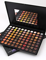 88 Paleta de Sombras Mate Paleta da sombra Pó Maquiagem para o Dia A Dia Maquiagem para Dias das Bruxas Maquiagem de Festa Maquiagem de