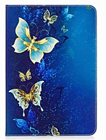 Butterfly Pattern Card Holder Wallet with Stand Flip Magnetic PU Leather Case for Samsung GALAXY Tab A 9.7 T550 T555 9.7 inch Tablet PC