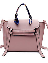 cheap -Women Bags PU Tote Zipper for Shopping Casual All Season Blue Black Blushing Pink Khaki