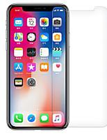 abordables -Protector de pantalla para Apple iPhone X Vidrio Templado 1 pieza Alta definición (HD) Dureza 9H Borde Curvado 2.5D Anti-Arañazos