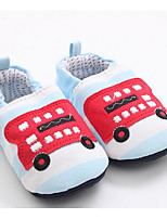 Baby Shoes Cotton Fall Winter Comfort First Walkers Sneakers For Casual Light Blue