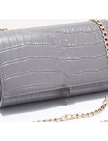 Women Bags PU Crossbody Bag Zipper for Casual All Seasons Black Gray Yellow