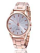 Men's Women's Fashion Watch Wrist watch Chinese Quartz Metal Band Minimalist Casual Silver Gold Rose Gold