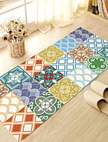 DIY 3D Moroccan Decor Antiskid Floor Stickers Home Decor Many Color Patterns Floor Anti-slip Ground Decal for Washroom Kids Room 60*120cm