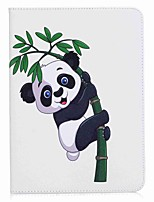 Panda and Bamboo Pattern Card Holder Wallet with Stand Flip Magnetic PU Leather Case for Samsung Galaxy Tab S3 WIFI/LTE T820 T825 9.7 inch Tablet PC