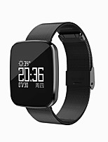 0.96 Inch OLED Smart Bracelet Water Proof Long Standby Calories Burned Pedometers Heart Rate Monitor for Ios Android Mobile Phone