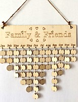 Office/Career Event/Party Wooden Wedding Decorations