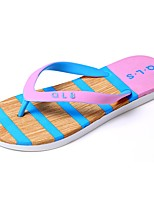 Men's Shoes PU Summer Comfort Slippers & Flip-Flops For Casual Blushing Pink Blue Peach Yellow Gray
