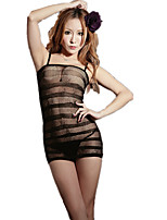 Women's Suits Nightwear,Sexy Jacquard-Thin Polyester Spandex
