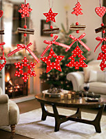 12pcs Christmas Decorations Christmas OrnamentsForHoliday Decorations 15*5*1
