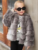 Kids' Wraps Coats/Jackets Faux Fur Wedding Party/ Evening
