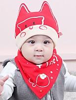 Toddler Hats & Caps Baby Bibs,Autumn Winter 100% Cotton