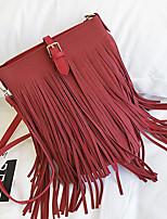 Femme Sacs Toutes les Saisons Polyuréthane Cabas Fermeture pour Shopping Décontracté Noir Rouge Marron Vert Véronèse