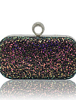 Women Bags All Seasons Special Material Evening Bag Sequins for Wedding Event/Party Blue Gold Black Light Green