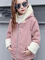 Girls' Solid Suit & Blazer,Cotton Acrylic Fall Winter Long Sleeve