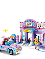 Building Blocks Toys House Houses Vehicles Fantacy Friends Kids Girls' Girls 368 Pieces