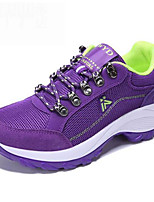 Running Shoes Mountaineer Shoes Women's Anti-Slip Rain-Proof Wearable Breathability Leisure Sports Low-Top Real Leather Breathable Mesh