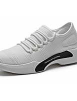 Men's Shoes PU Spring Fall Comfort Sneakers Lace-up For Casual Gray Black White