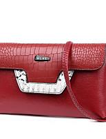 Women Bags All Seasons PU Shoulder Bag Zipper for Casual Black Red Light Purple Light Gray