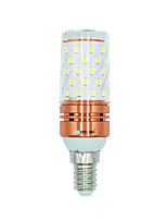 1 pièce 12W E14 Ampoules Maïs LED 60 diodes électroluminescentes SMD 2835 Blanc Chaud Blanc Couleur double source lumineuse 1000lm