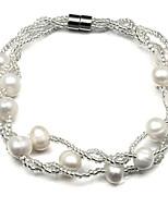Femme Bracelet Bracelets de rive Perle Perle Bijoux Pour Soirée Quotidien