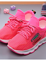 Girls' Shoes Tulle Fall Winter Comfort Sneakers For Casual Blushing Pink Green Black