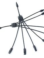 y tipo 4 em 1 conector de cabo solar masculino e feminino ip67 mc4 m / m / f e f / f / m para painéis solares cabo 4mm2 / 6mm2 powmr