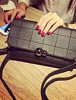 Women Bags All Seasons PU Shoulder Bag Buttons Zipper for Casual Blue Black Red
