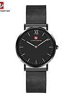 Men's Dress Watch Fashion Watch Japanese Quartz Stainless Steel Band Black Silver Rose Gold
