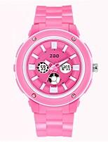 Mulheres Relógio de Moda Relogio digital Digital Silicone Banda Azul Rosa Roxa Rose