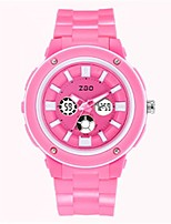 Women's Fashion Watch Digital Watch Digital Silicone Band Blue Pink Purple Rose