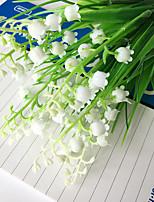 3 bunch of Campanula 28cm 7Fork Simulation Plastic Flowers