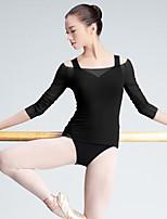 Danza classica Top Per donna Esibizione Tulle 3/4 Sleeve di lunghezza Top