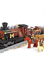 Building Blocks Train Toys Train Animals Cartoon Still Life Vehicles Animals Fashion Kids Pieces