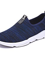 Men's Shoes PU Spring Fall Comfort Sneakers For Casual Blue Black