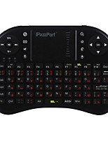 ipazzport ipazzport mini keyboard KP-810-21D-RU Mouse ad aria wireless a 2,4 GHz Android Altro Windows Mac OS X Linux XP Windows Vista