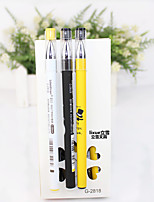 12 PCS Magic Time Black Ink Gel Pen