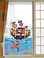 Animal Autocollant de Fenêtre,PVC Matériel Décoration de fenêtre